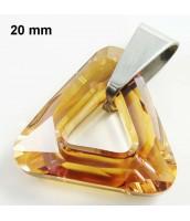 Prívesok Swarovski Elements triangel 280067HN