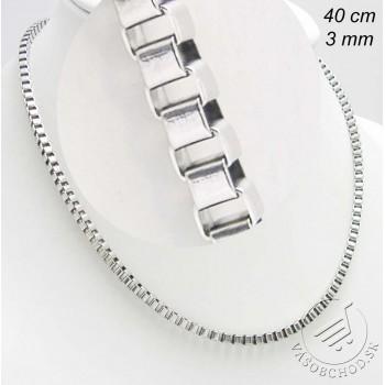 Oceľová retiazka 40cm - 230857A