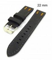 Šedý remienok na hodinky šírka 22 mm - 10RE863O