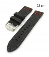 Šedý remienok na hodinky šírka 22 mm - 10RE8631C
