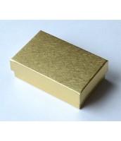 Zlatá darčeková krabička na šperky - DKR63