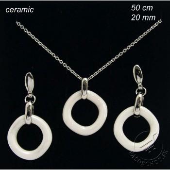 Keramická súprava šperkov 237629B