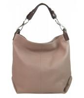 Kožená dámska kabelka Shaila staroružová - KK-S7116 ROSA CIPRIA