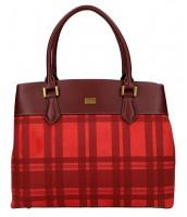 Červená dámska kabelka do ruky David Jones - CM5499