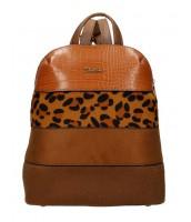 Hnedý dámsky módny elegantný batôžtek David Jones - 6157-2