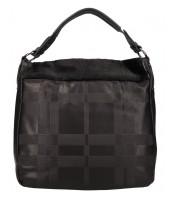 Kombinovaná veľká dámska kabelka Tommasini čierna - BLY538