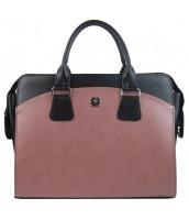 Staroružová matná dámska kabelka pre notebook do 15.6 palca PUNCE - LC-01