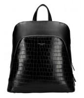 Čierny dámsky módny batôžtek David Jones - CM5615
