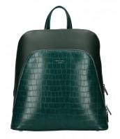 Zelený dámsky módny batôžtek David Jones - CM5615