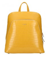 Žltý dámsky módny batôžtek David Jones - CM5615