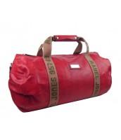 Pánska cestovná taška TESSRA červená - 4244-TS