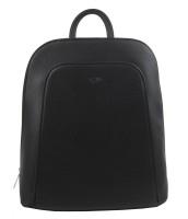 Elegantný čierny dámsky batoh - 5306-TS