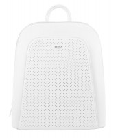 Elegantný biely dámsky batoh - 5306-TS