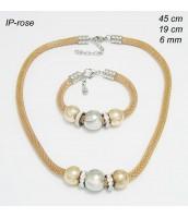 Oceľová súprava šperkov 237237