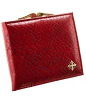 Červená hadia dámska peňaženka v darčekovej krabičke MILANO DESIGN - SF1814