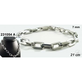 Oceľový náramok 230425A