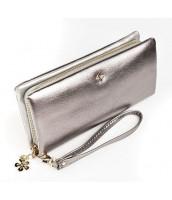 Strieborná dámska peňaženka s obvodovým zipsom v krabičke MILANO DESIGN - SF1844