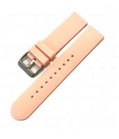Ružový, plastový remienok 20 mm na hodinky -10RE880R