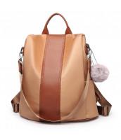 Hnedý dámsky batoh / kabelka cez rameno Miss Lulu - LU-LG1903
