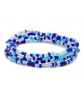 Korálkový náramok / náhrdelník / pás z rokajlu - RK0200