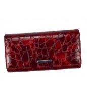 Kožená červená dámska peňaženka Gregorio v darčekovej krabičke - FZ-102