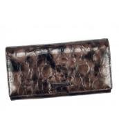 Kožená šedá dámska peňaženka Gregorio v darčekovej krabičke - FZ-102