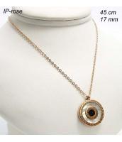 Oceľový náhrdelník s perleťou 237521