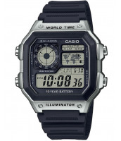 Digitálne hodinky Casio AE 1200WH-1C
