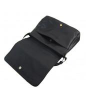Čierna pánska crossbody taška - 2339-BB