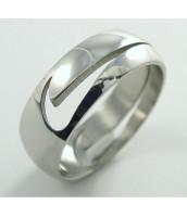Prsteň z ocele NIKE - leštený - 232242A