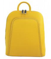 Elegantný žltý dámsky ruksak - 5301-BB