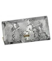 Luxusná hadia dámska kožená peňaženka PATRIZIA PIU s RFID v darčekovej krabičke - SNR-106