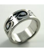 Oceľový prsteň KOBRA - 232488A