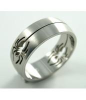 Oceľový prsteň PAVÚK - 232256B