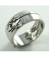 Oceľový prsteň PAVÚK - 232256A