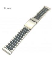 Oceľovo-plastový remienok šírka 20 mm - 10RE009-04