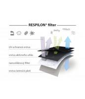 Nano FFP2 respirátor RespiPro Carbon – 3ks
