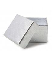 Strieborný prsteň s kvietkami - R0457