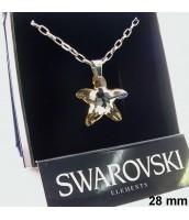 Náhrdelník s krištáľom Swarovski Elements 270015ZL