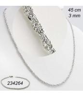 Oceľová retiazka 45cm - 231522A