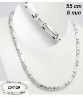 Náhrdelník z ocele 55cm 234126A