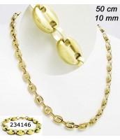 Oceľový náhrdelnik 50cm 234136A