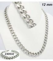 Oceľová reťaz - náhrdelník 12mm 231164A