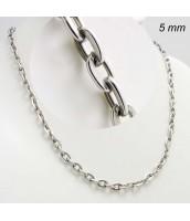 Oceľová retiazka CABLE 5mm - 231101B